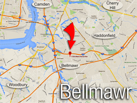 Click Here and Find us in Bellmawr!