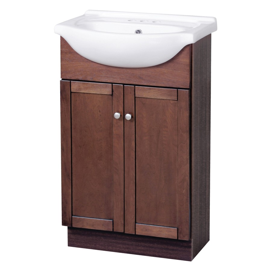 Columbia Combo 22 Vanity And Sink Cherry Home Surplus