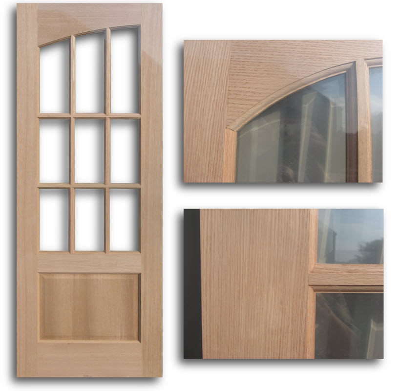 Interior french doors interior french doors half glass for Full glass french doors