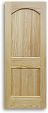 Arched - 2 Panel Pine - Interior