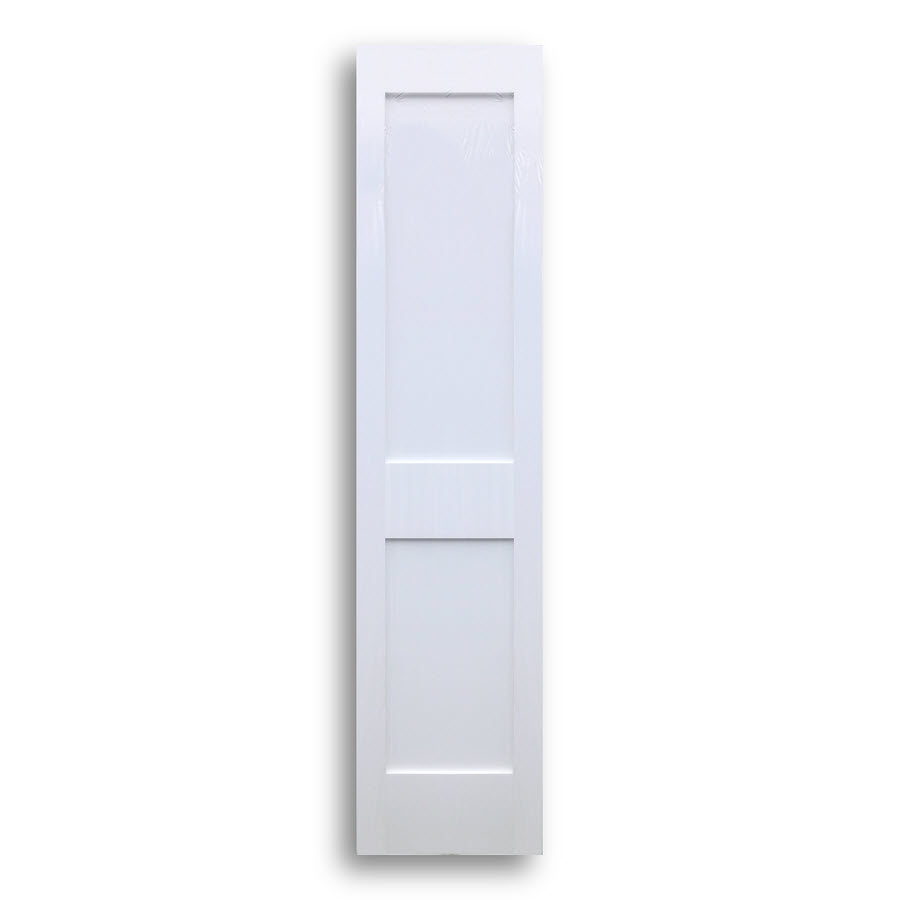 Shaker style primed interior door 18inch x 80inch for 18 inch pre hung interior door
