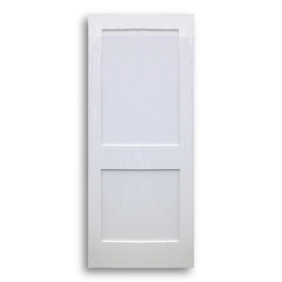 Shaker Style Primed Interior Door 34inch X 80inch Home Surplus