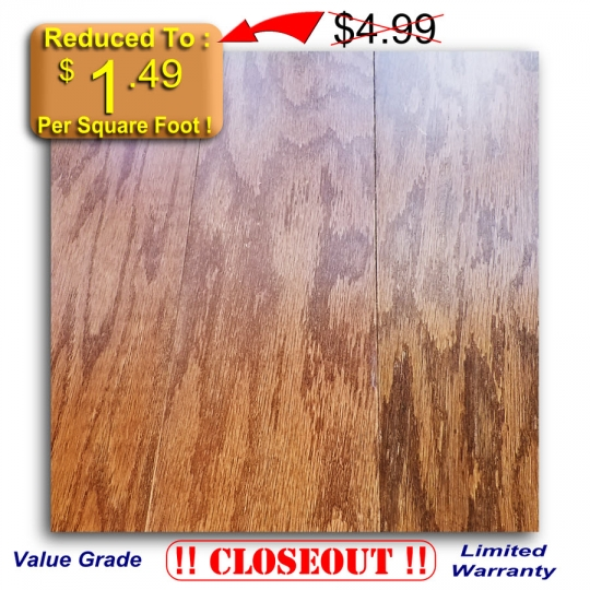 Prefinished Flooring - Timberland - Engineered Oak - SADDLE - 5