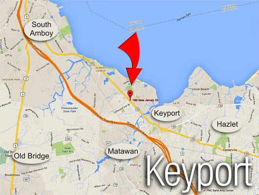 Click Here and find us in Keyport!