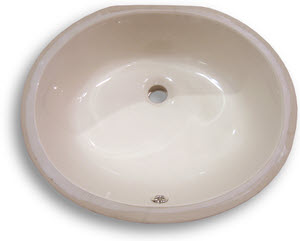 Undermount Vanity Sink Bone 17 Quot X 14 Quot Bowl Home Surplus