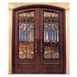 Wrought Iron Exterior Doors: Home Surplus