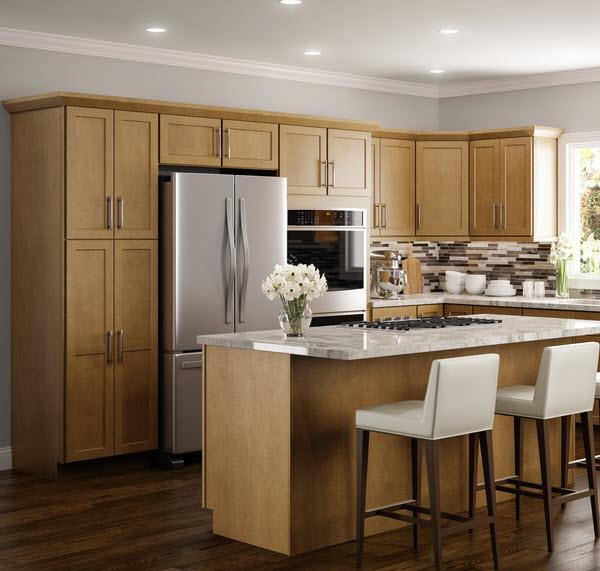 Good Amesbury Golden   Craftsman Premier   Kitchen Cabinets
