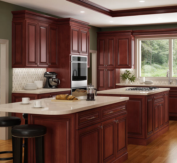 Andover Brown Collection Kitchen Cabinets Solid Wood Soft: Georgetown Cabinets:
