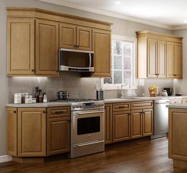 Delightful Quincy Golden   Craftsman Premier   Kitchen Cabinets
