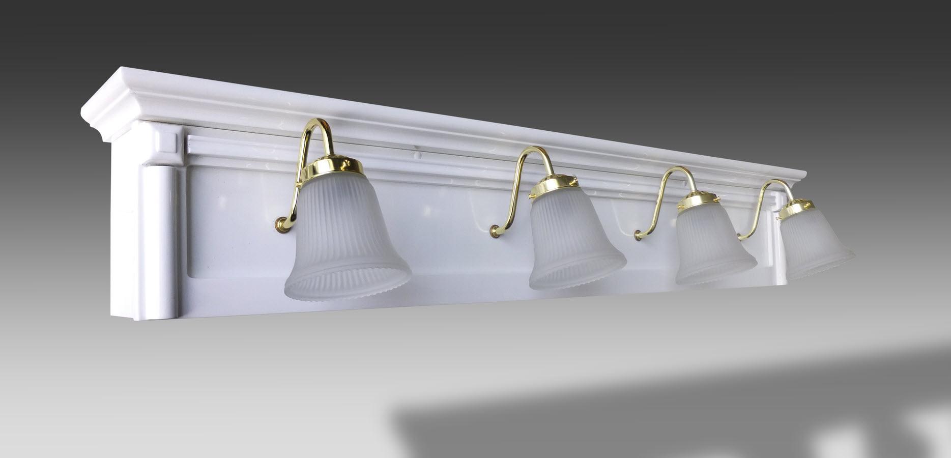 KINGSTON Vanity Light Bar - White - 48\