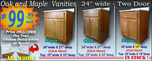 Vanity WITH Top !