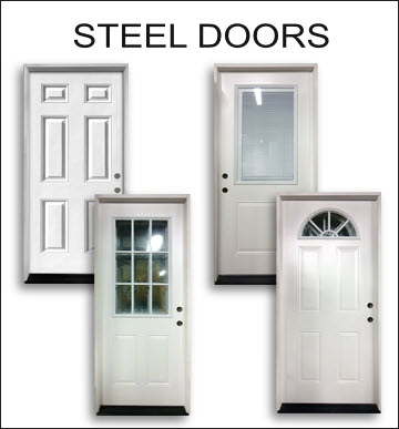 click here for steel exterior doors