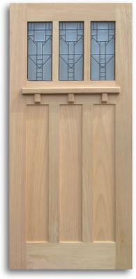 Home / Doors / Exterior Doors / Red Oak Exterior Doors / Oak Craftsman