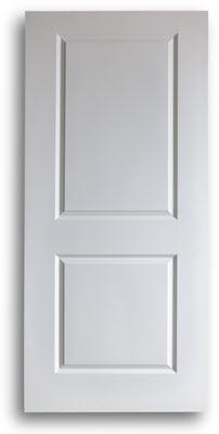 Good Home / Doors / Interior Doors / Solid Core Interior / 2 Panel Interior  Square