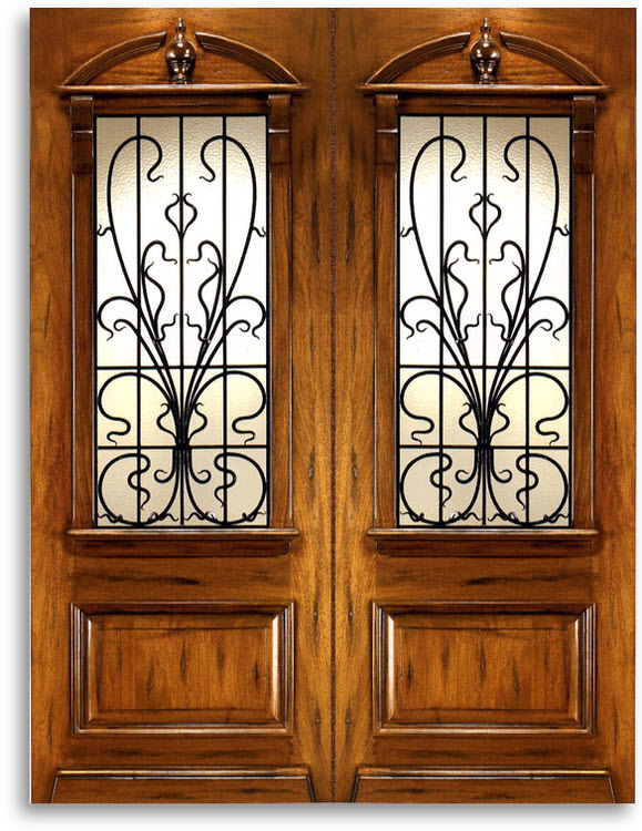 MAHOGANY EXTERIOR DOORS - Pre-Hung - Pre-Finished: Home Surplus