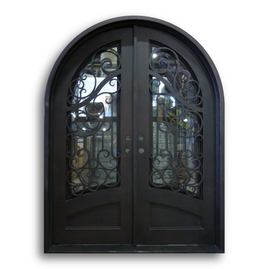 Wrought Iron Door Hs 11 74 X 97 5 Home Surplus