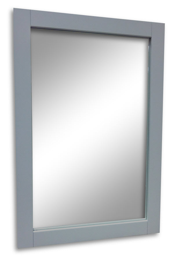 Gray framed mirror 20w x 30h home surplus for Mirror 20 x 30