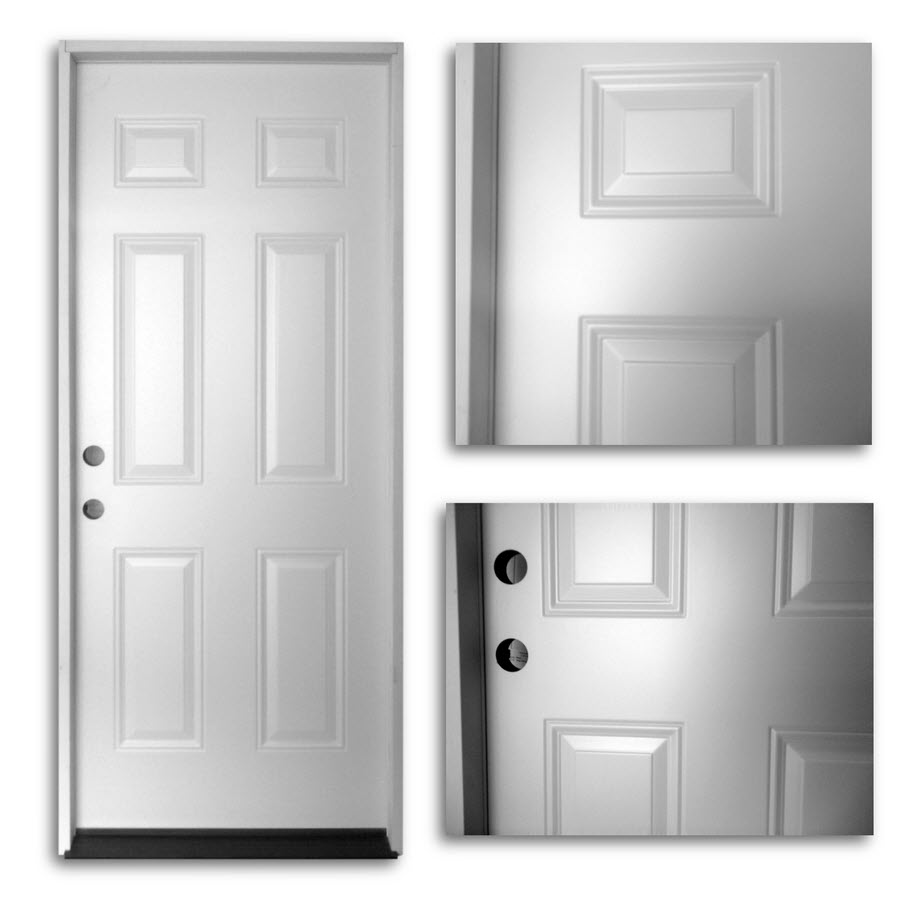 sc 1 st  Home Surplus & 36 inch - Pre-Hung Steel Door - 6 Panel: Home Surplus