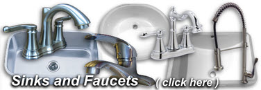 Click Here For Sinks and Faucets!