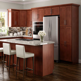 Amesbury Cherry Cabinets