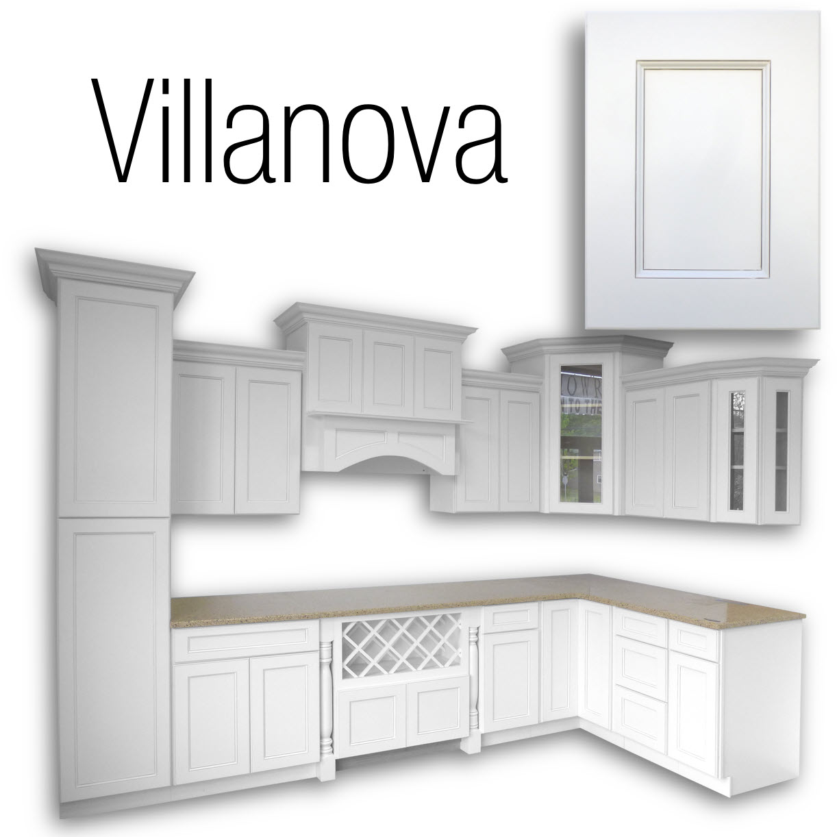 Villanova Cabinets: - Home Surplus