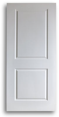 Home / Doors / Interior Doors / Solid Wood Pine Doors / Primed 2-Panel Pine Door - Square & Square - 2-Panel - Primed - Pine Door 36w80h: Home Surplus