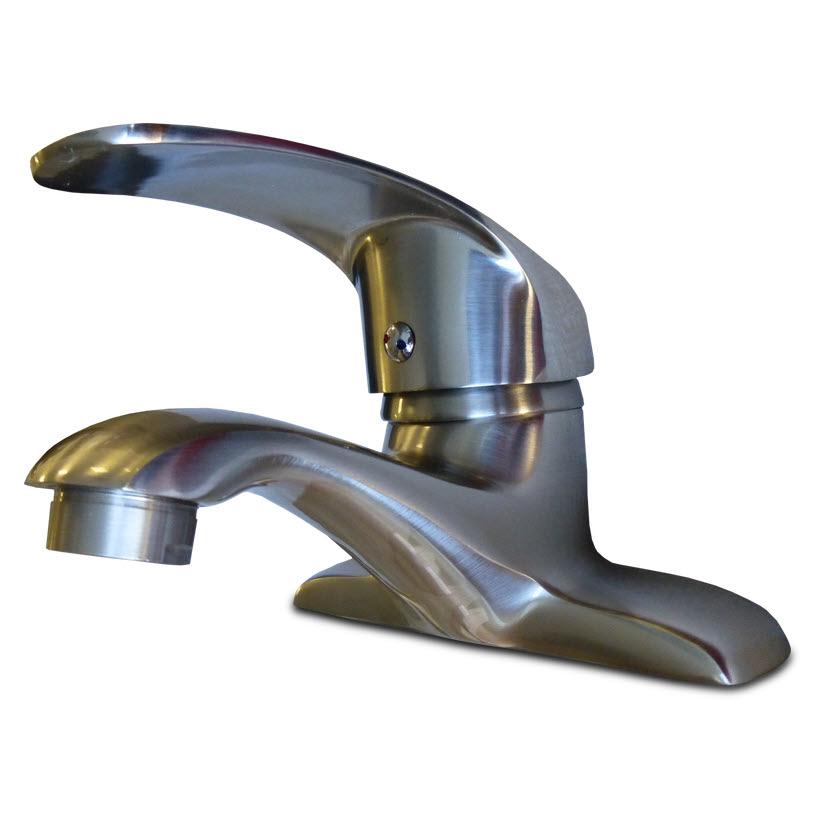 Surplus Bathroom Fixtures: Faucet HT-2133 Nickel: Home Surplus