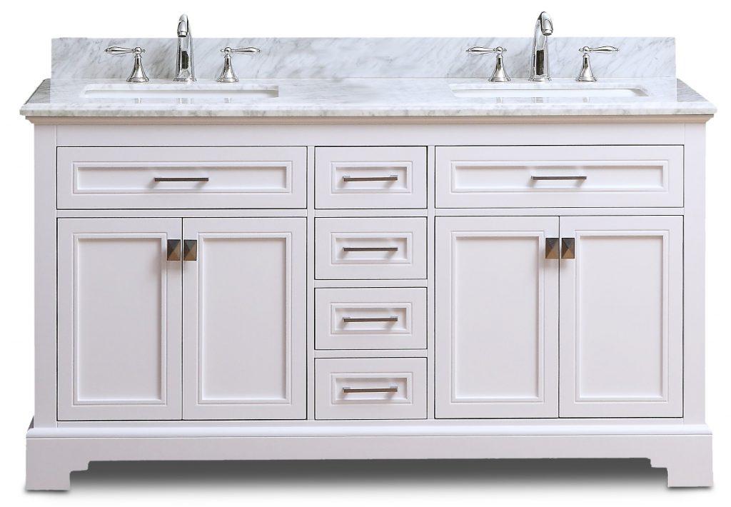 Narada Vanity White 60inch Home Surplus