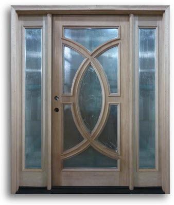 Incroyable Home / Doors / Exterior Doors / Mahogany Exterior Doors / Mahogany Modern / Reeded  Glass Modern Mahogany