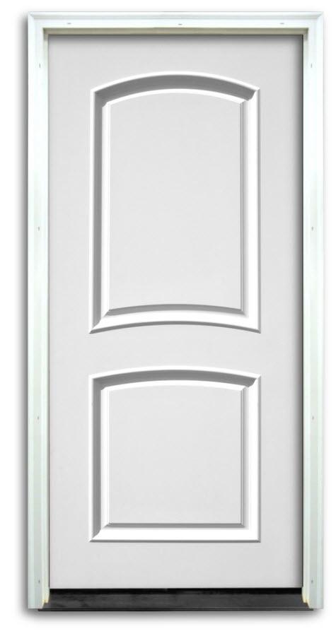 Home Doors Interior Solid Core 2 Panel Raised