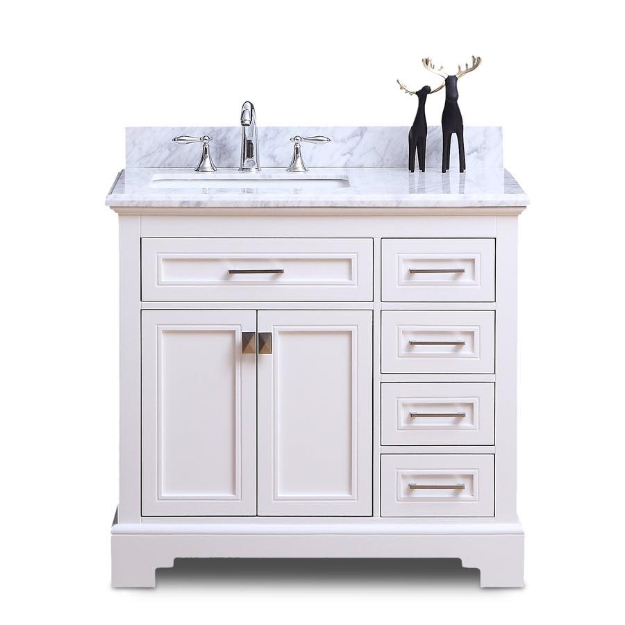 Narada Vanity White 36inch Home Surplus