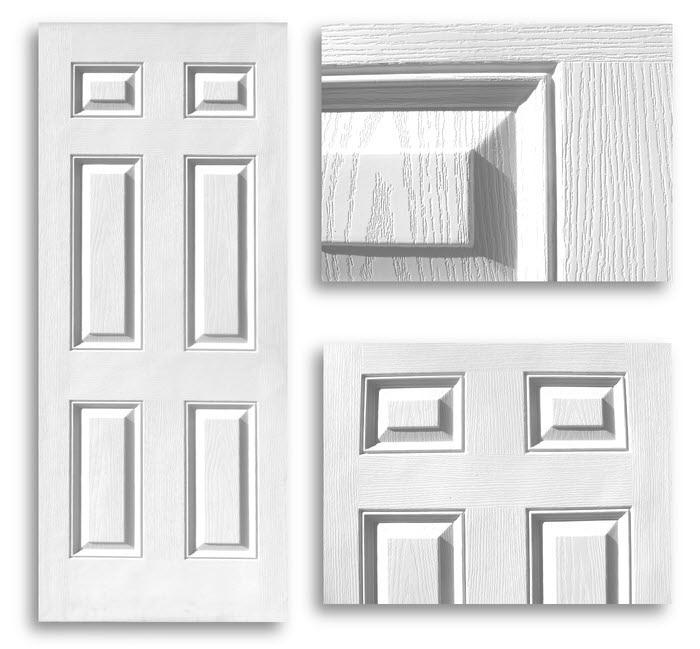 Home / Doors / Interior Doors / Hollow Core Doors / Colonial 6 Panel Door