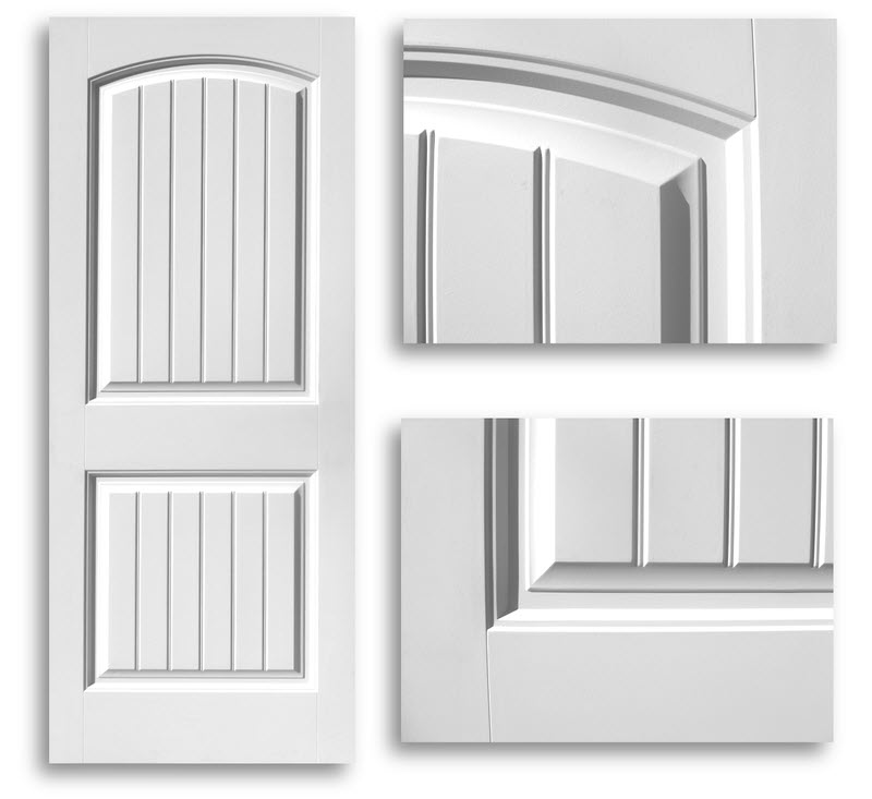 Beau Home / Doors / Interior Doors / Hollow Core Doors / Cheyenne 2 Panel Door