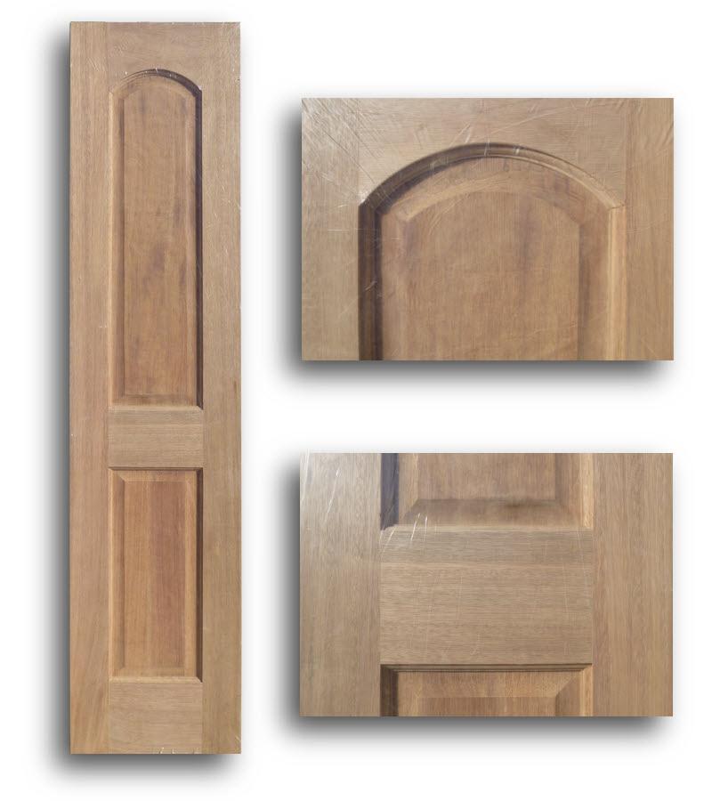 Arched 2 Panel Mahogany Interior Door 18w 80h Home Surplus