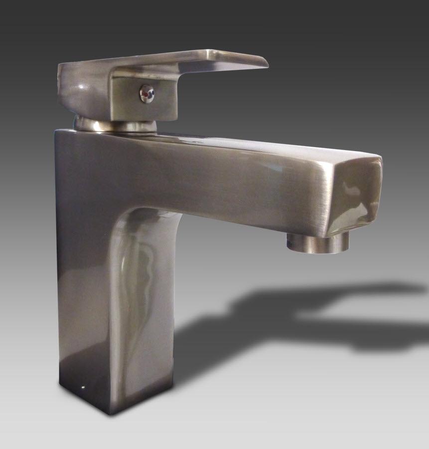 Surplus Bathroom Fixtures: Faucet HT-1112 Nickel: Home Surplus