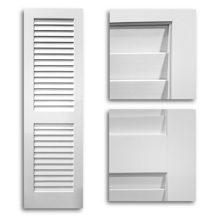 Home Doors Interior Wide Louver