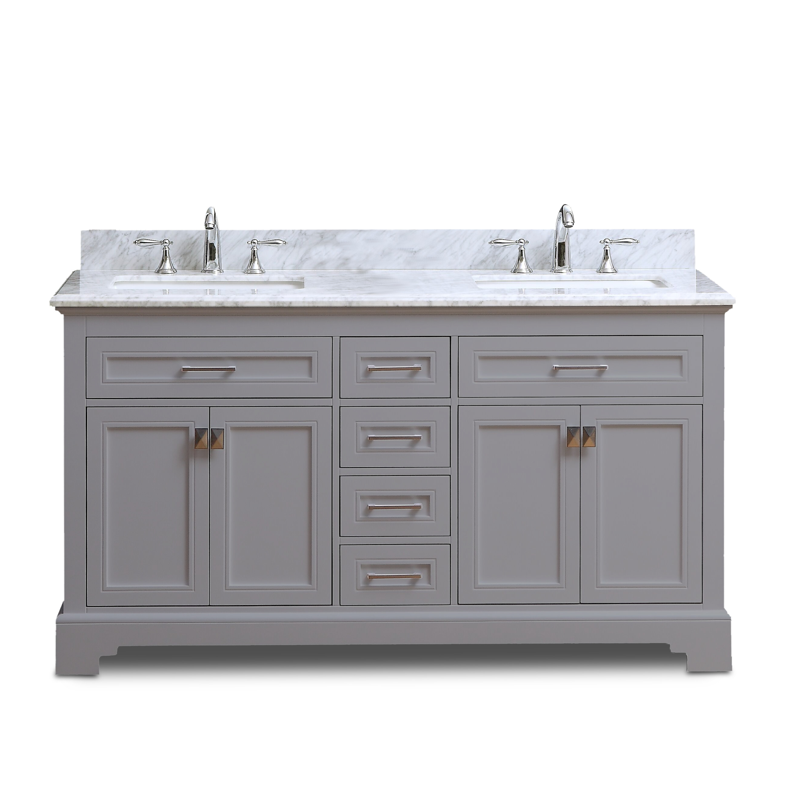 Fantastic Narada Vanity Grey 72Inch Interior Design Ideas Philsoteloinfo