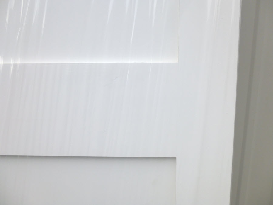Shaker Style Primed Interior Door 26inch X 80inch Home Surplus